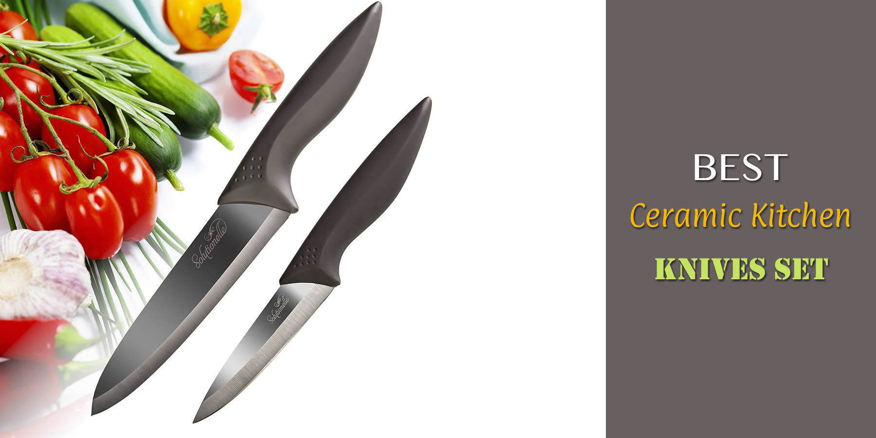 Best Ceramic Kitchen Knives Set Reviews And Guide For 2018