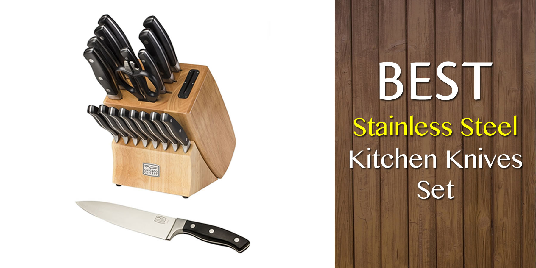 Best stainless steel kitchen knives set reviews and guide for Best kitchen set