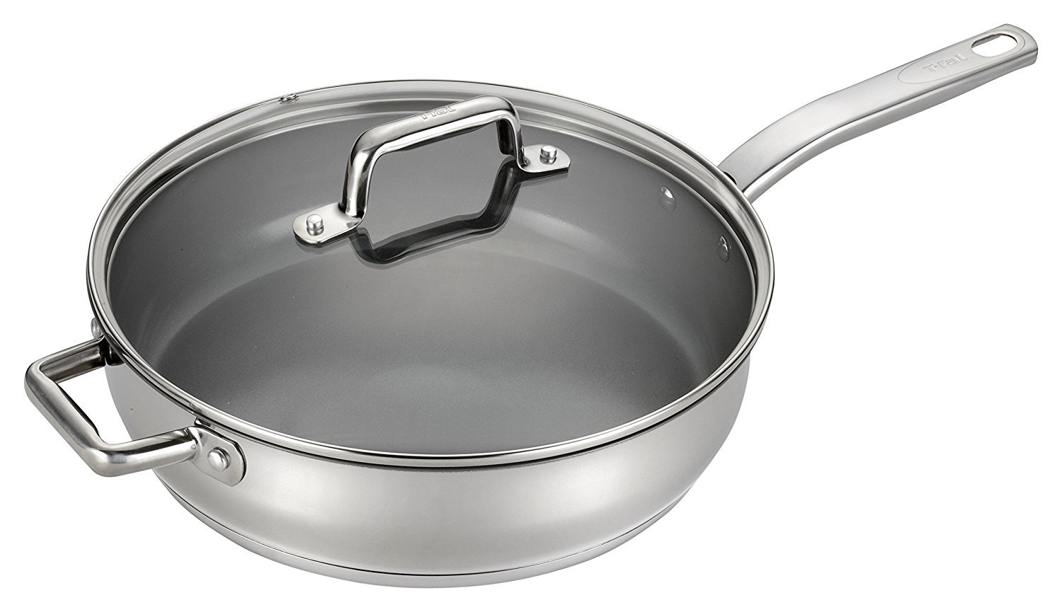 T-fal C71882 Precision Stainless Steel Saute Fry Pan ,5-Quart Review