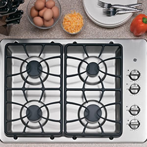 GE 4 Sealed Burner Built-In Gas Cooktop Review