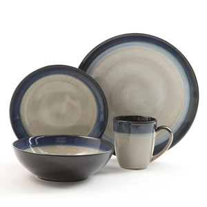 Gibson Couture Bands 16-Piece Dinnerware Set Review