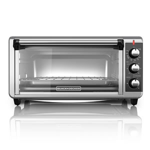 BLACK+DECKER TO3250XSB 8-Slice Convection Countertop Oven