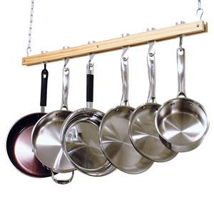 Cooks Standard Ceiling Mount Single Bar Pot Rack