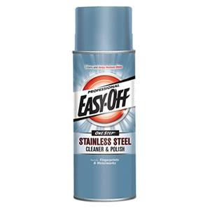Easy Off Stainless Steel Cleaner and Polish, 17 ounce