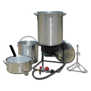 King Kooker 1265BF3 Outdoor Deep Frying Review