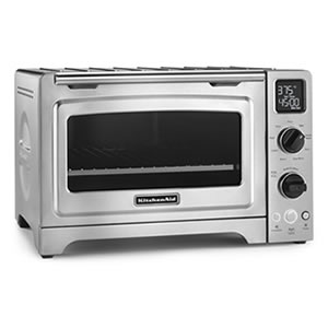 "KitchenAid KCO273SS 12"" Convection Digital Countertop Oven"