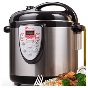 Secura 6-in-1 Programmable Electric Pressure Cooker Review