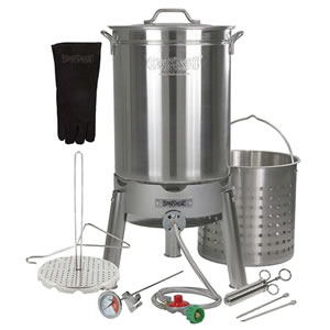 Turkey Deep Fryer Big Bird Kit By Bayou Classic