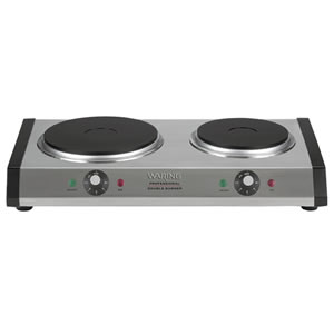 Waring Commercial WDB600 Double Burner