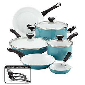 Farberware Purecook Ceramic Nonstick 12-Piece Cookware Set